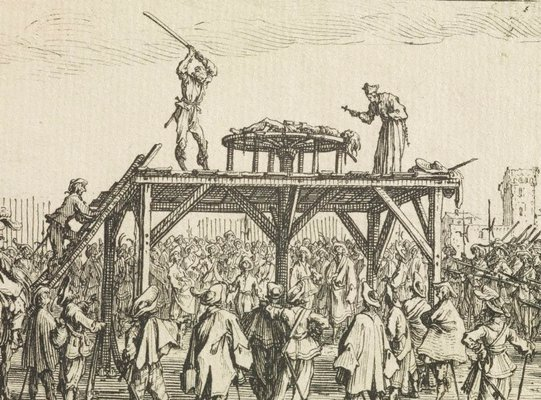Alternate image of The wheel by Jacques Callot