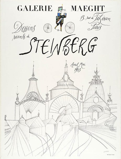 An image of Poster by Saul Steinberg