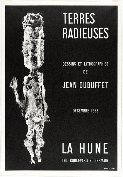 An image of Terres radieuses by Jean Dubuffet