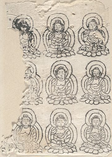 An image of Images of the Amida Buddha