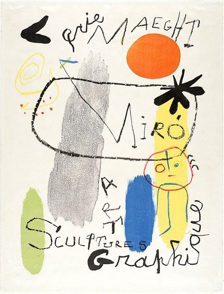 An image of 'Sculptures - Art Graphique' exhibition by Joan Miró