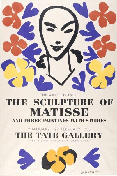 An image of 'The sculpture of Matisse' exhibition by Henri Matisse