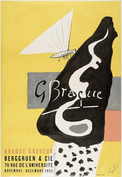 An image of Braque Graveur, Berggruen & Cie by Georges Braque