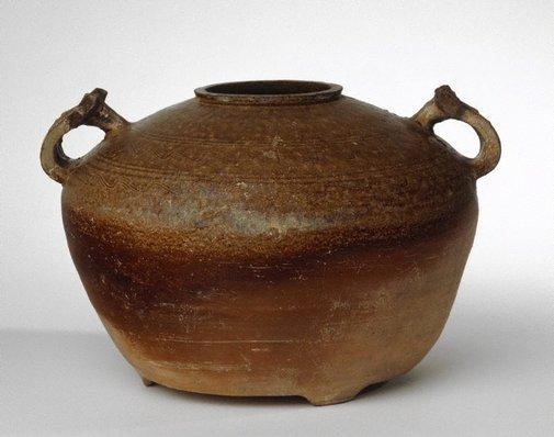 An image of Food storage jar ('pou') by