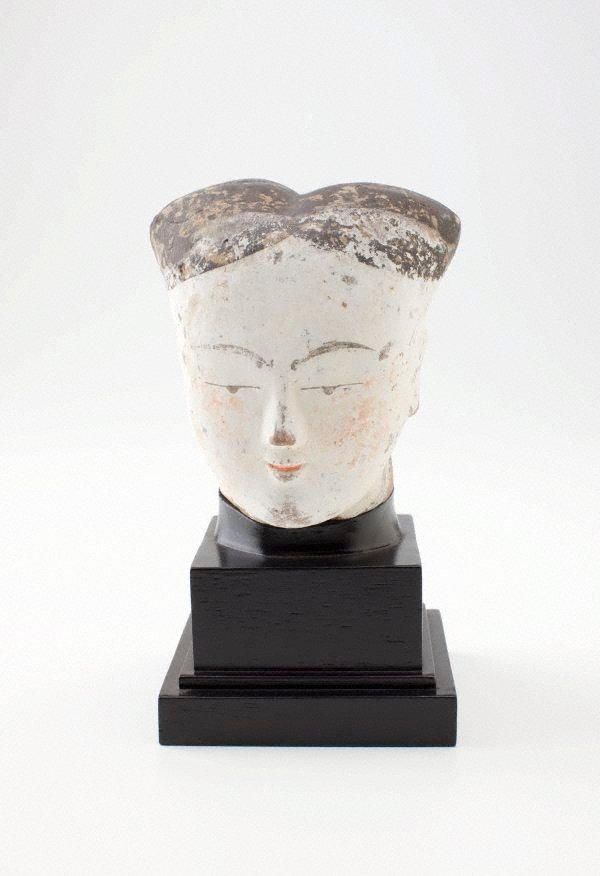 An image of Head of a lady