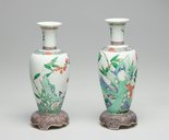 Alternate image of Pair of vases by Jingdezhen ware