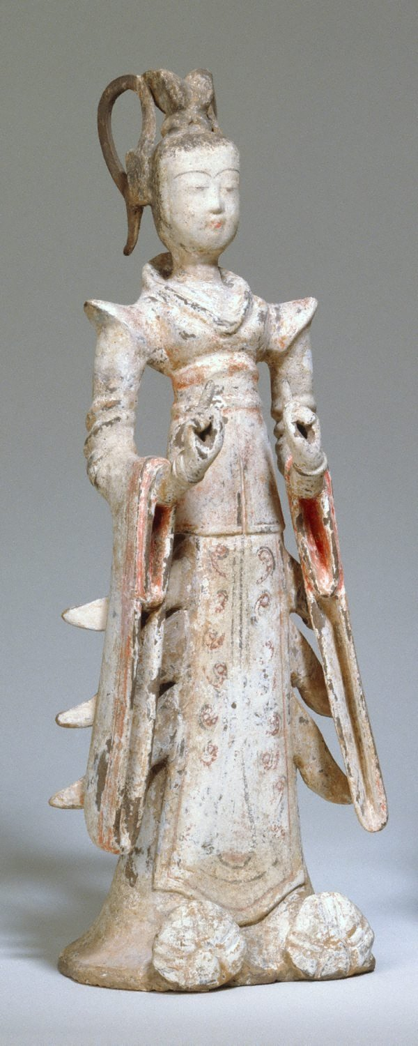 An image of Court lady in ceremonial dress