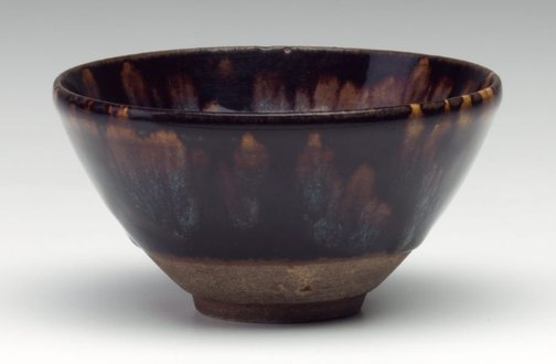 An image of Tea bowl by Jizhou ware