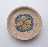 Alternate image of Offering dish with lotus design by