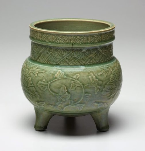 An image of Tripod censer by Longquan ware