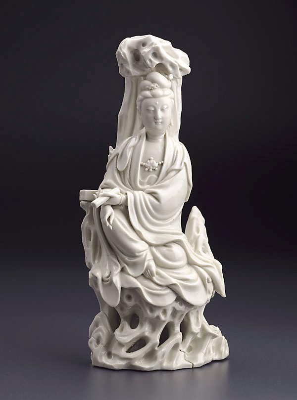 An image of Guanyin, bodhisattva of compassion