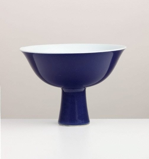 An image of Stem cup by Jingdezhen ware