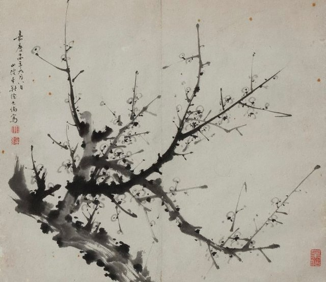 An image of Branch of plum blossom