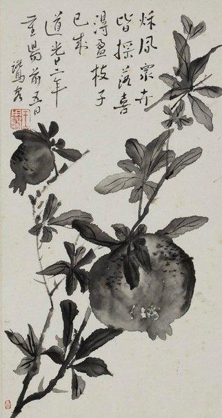 An image of Pomegranate by WANG Yongyu