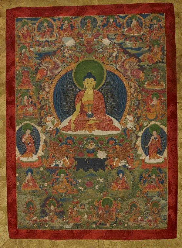An image of Gautama Buddha