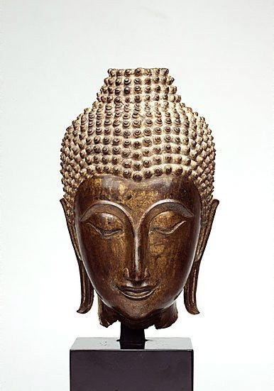 An image of Head of Buddha by