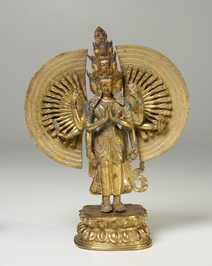AGNSW collection Avalokiteshvara, bodhisattva of compassion (19th century) EV1.1964