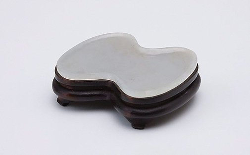 An image of Gourd shaped ink slab by