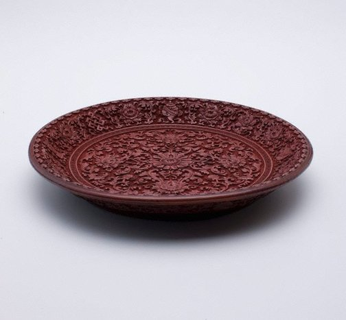 An image of Plate and stand by