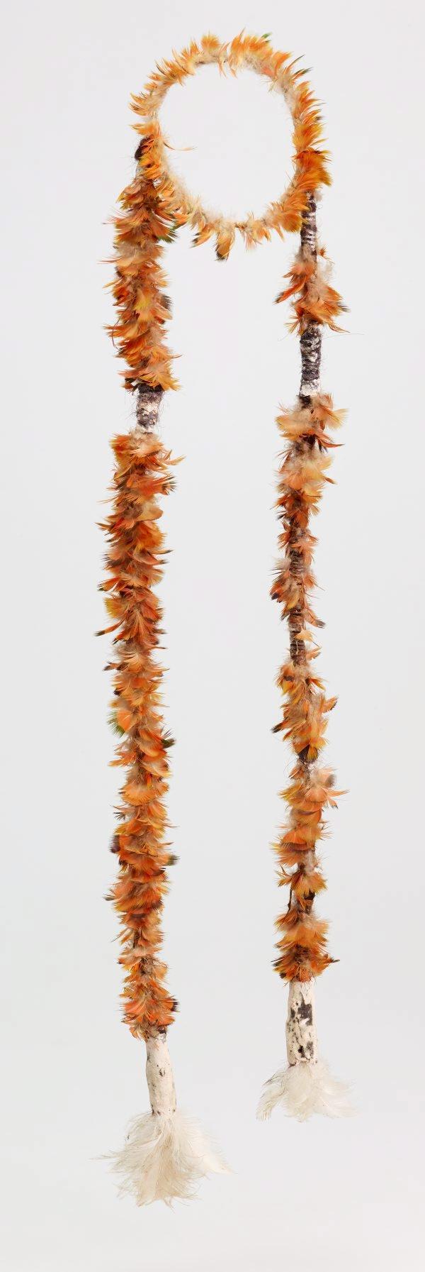 An image of Djambarrpuyngu dhawundu (armband with pendants)
