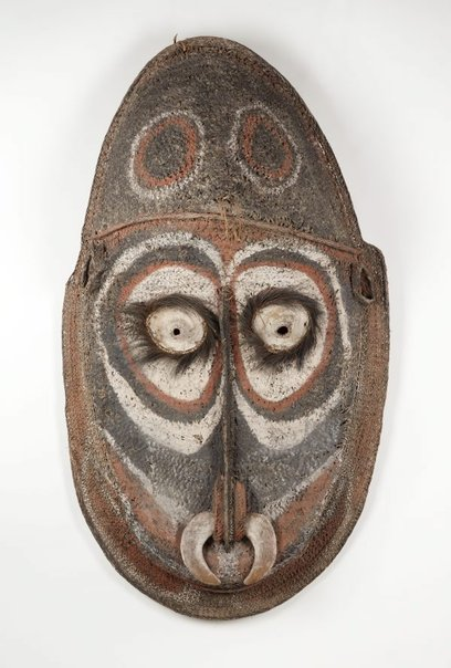 An image of Gable mask from house façade by