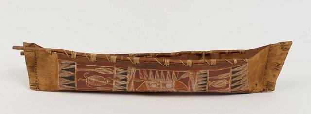 An image of Model of sea canoe