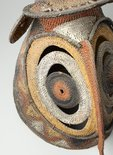 Alternate image of Baba or yau-baba (bell-shaped woven mask) by Abelam people