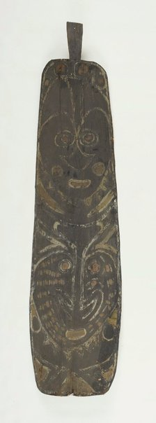 An image of Painting from ceremonial house by Kwoma people