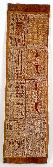 AGNSW collection Munggurrawuy Yunupingu Lany'tjung story no 3 (1959) IA62.1959