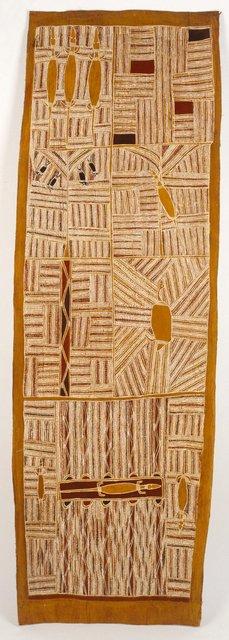 AGNSW collection Mawalan Marika Djan'kawu creation story (1959) IA65.1959