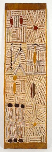 An image of Djan'kawu creation story by Mawalan Marika