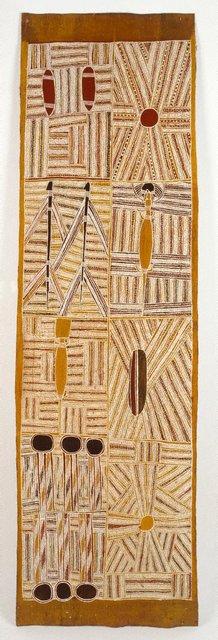 AGNSW collection Mawalan Marika Djan'kawu creation story (1959) IA67.1959