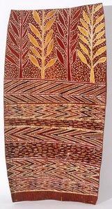 Rain in the trees, (circa 1959) by Binyinyuwuy Djarrankuykuy