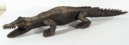 An image of Crocodile by Sepik people