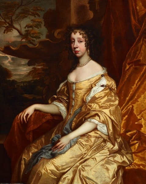 An image of Portrait of a lady by Sir Peter Lely