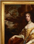 Alternate image of Portrait of a lady by Sir Peter Lely