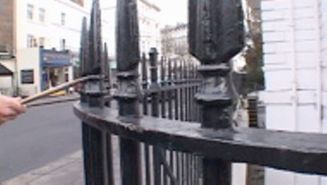 Railings, (2004) by Francis Alÿs