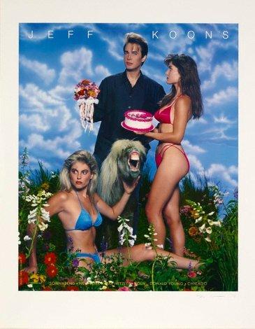 Art Magazine Ads, 1988-1989 by Jeff Koons