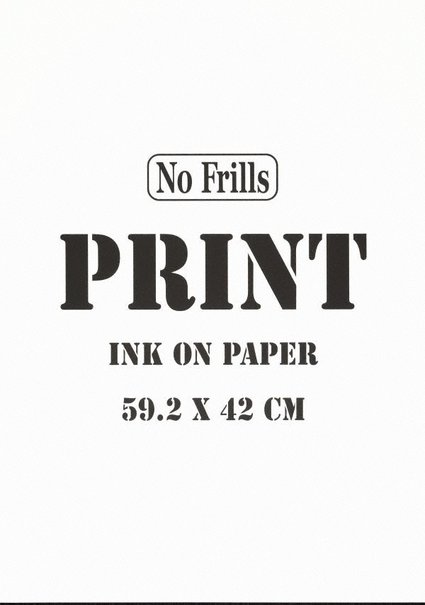 An image of Print by Michael Landy