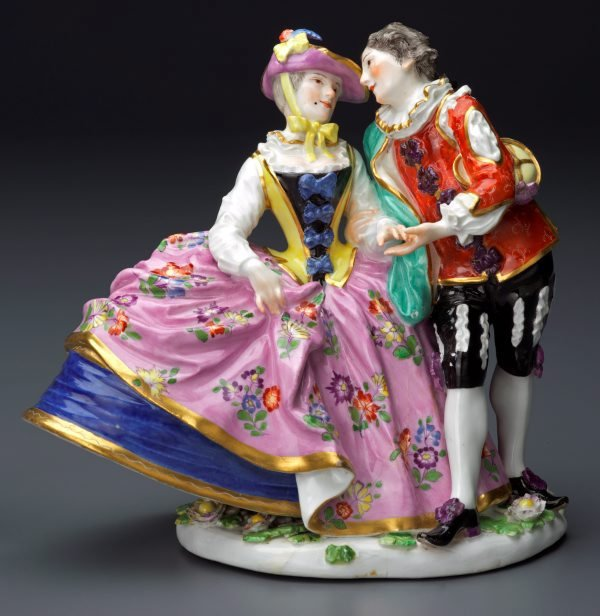An image of The Spanish lovers, model