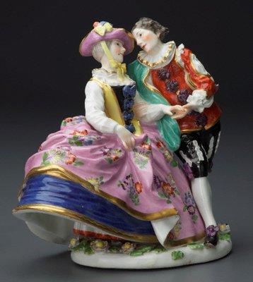 Alternate image of The Spanish lovers, model by Meissen