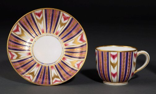An image of Cup and saucer by Sèvres