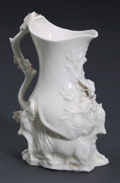 An image of Goat and bee jug by Chelsea