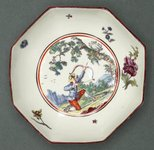 Alternate image of Tea bowl and saucer by Chelsea