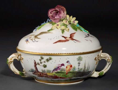An image of Covered bowl and cover by Chelsea