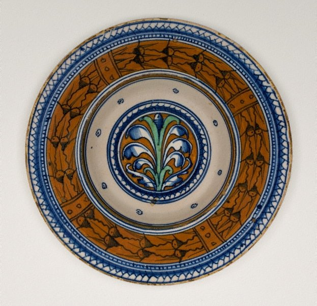 Broad-rimmed bowl, (circa 1490-1520) by Unknown