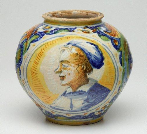 An image of Globular jar by Unknown