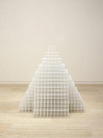 Pyramid, (2005) by Sol LeWitt
