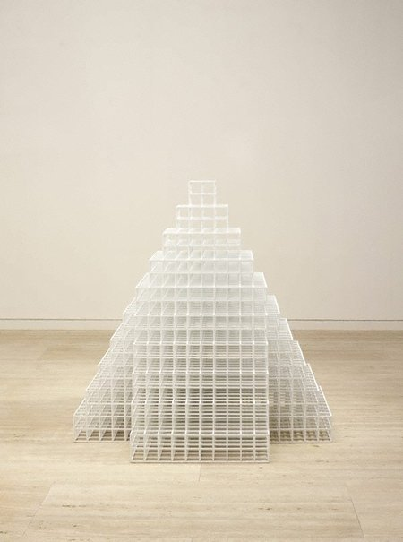 An image of Pyramid by Sol LeWitt