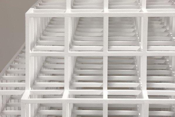 Alternate image of Pyramid by Sol LeWitt
